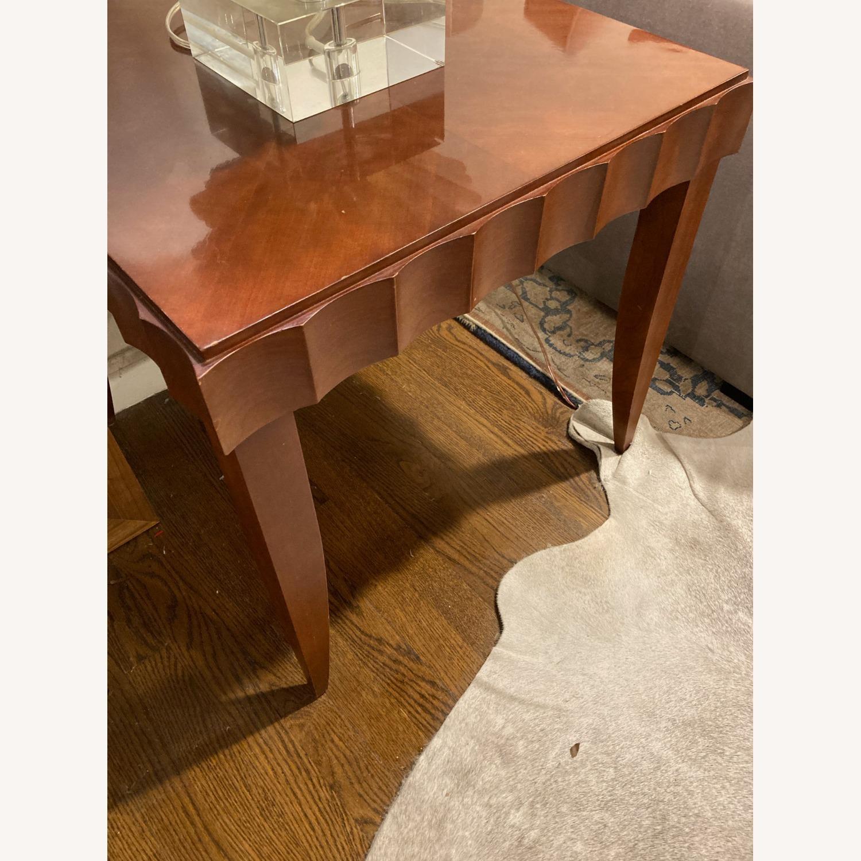 Baker Furniture Wood Side Table - image-3