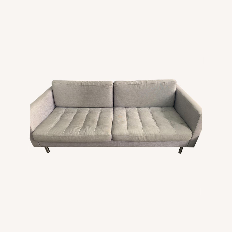 BoConcept Light Gray Osaka 2.5 Seater Sofa - image-0