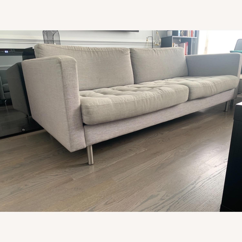 BoConcept Light Gray Osaka 2.5 Seater Sofa - image-1