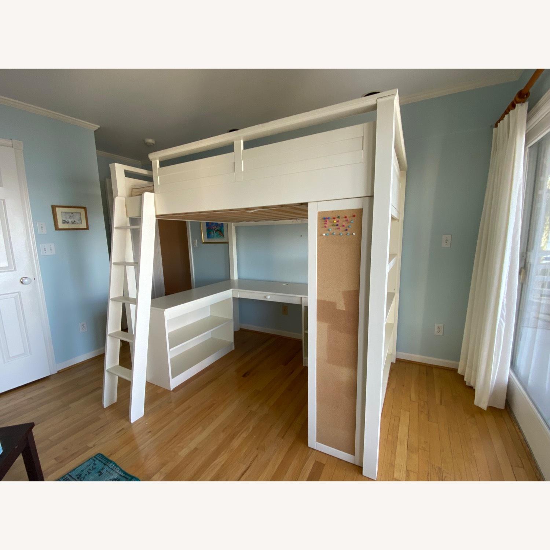PB Teen Sleep and Study Loft Bed - image-1