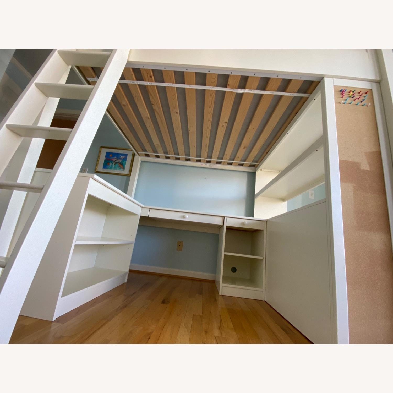 PB Teen Sleep and Study Loft Bed - image-7