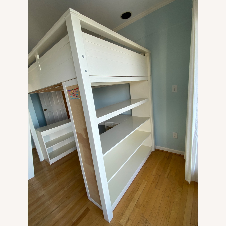 PB Teen Sleep and Study Loft Bed - image-5