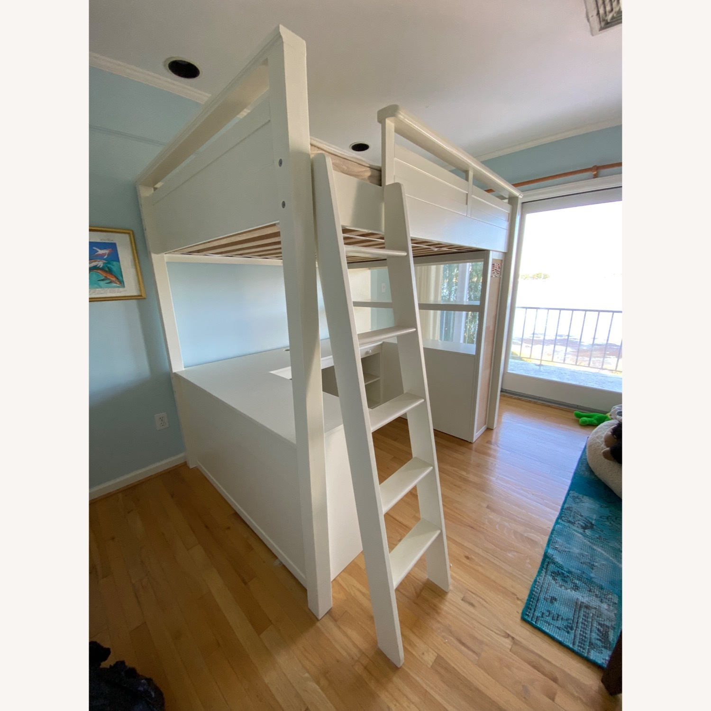 PB Teen Sleep and Study Loft Bed - image-4