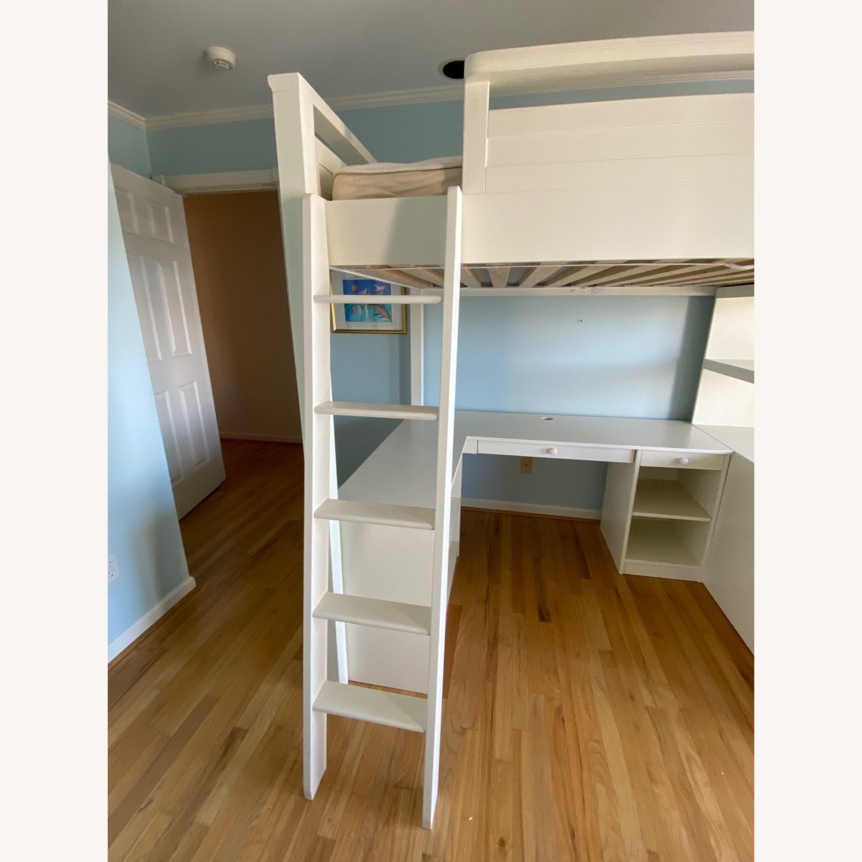 PB Teen Sleep and Study Loft Bed - image-6