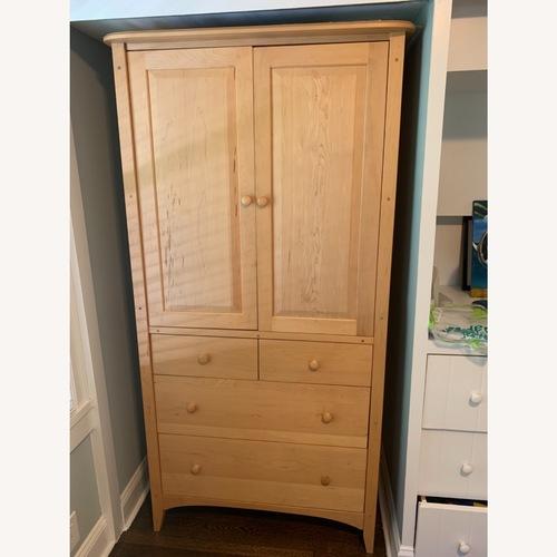 Used Pompanoosuc Mills New England Maple Armoire for sale on AptDeco