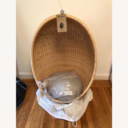 Used Sika Designs Hanging Egg Chair for sale on AptDeco
