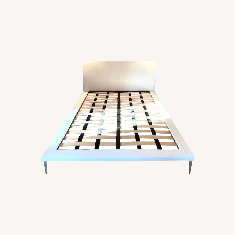 Cappellini Jasper Morrison Queen Bed - image-0