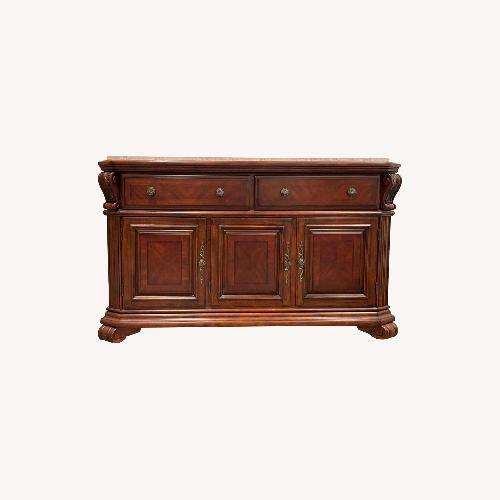 Used Broyhill 3 Door Buffet Table for sale on AptDeco