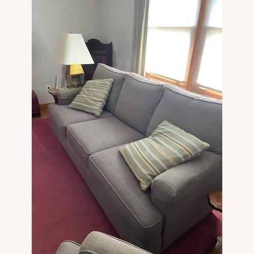 Used Bassett Gray Sofa for sale on AptDeco
