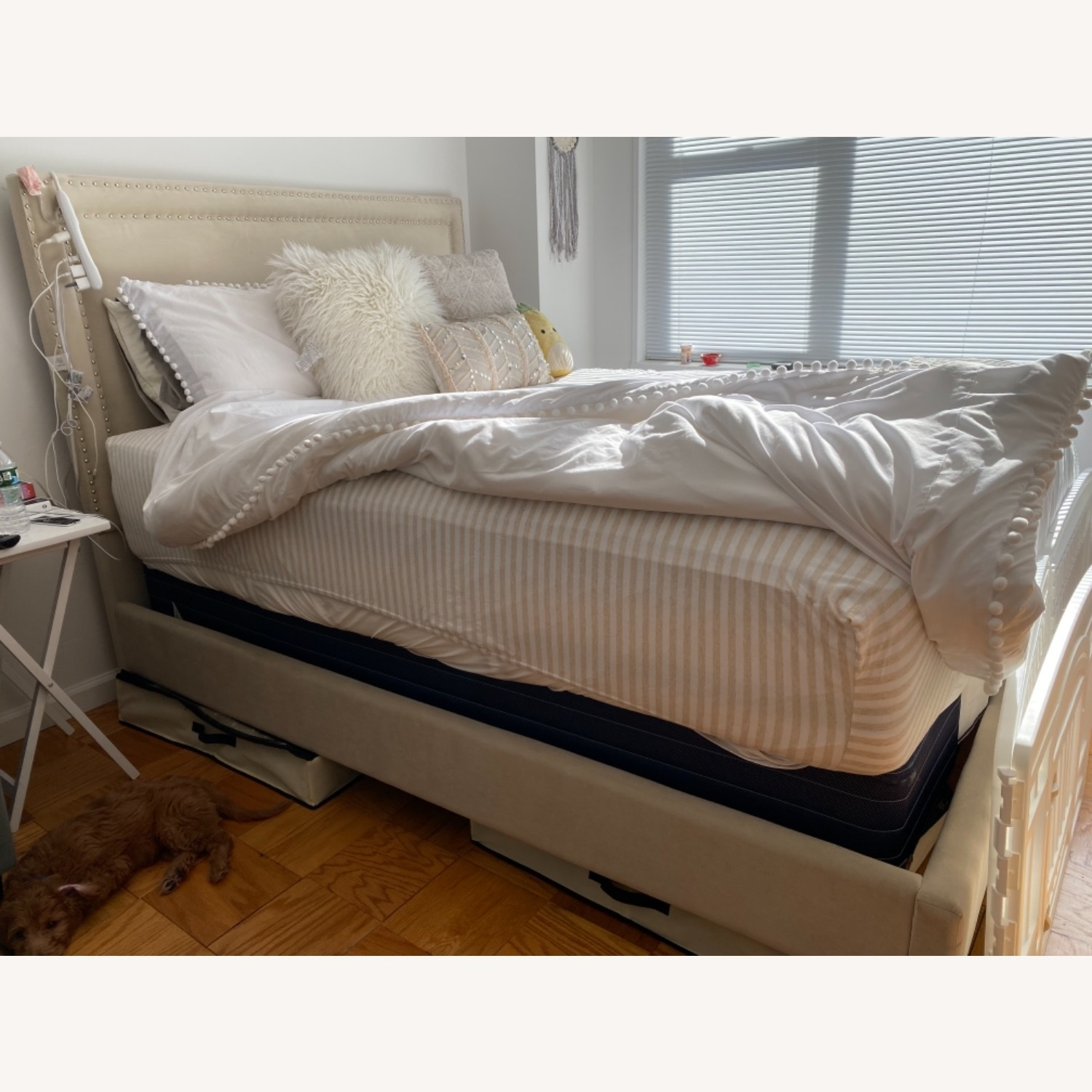Bob's Discount Furniture Queen Bed Frame - image-3