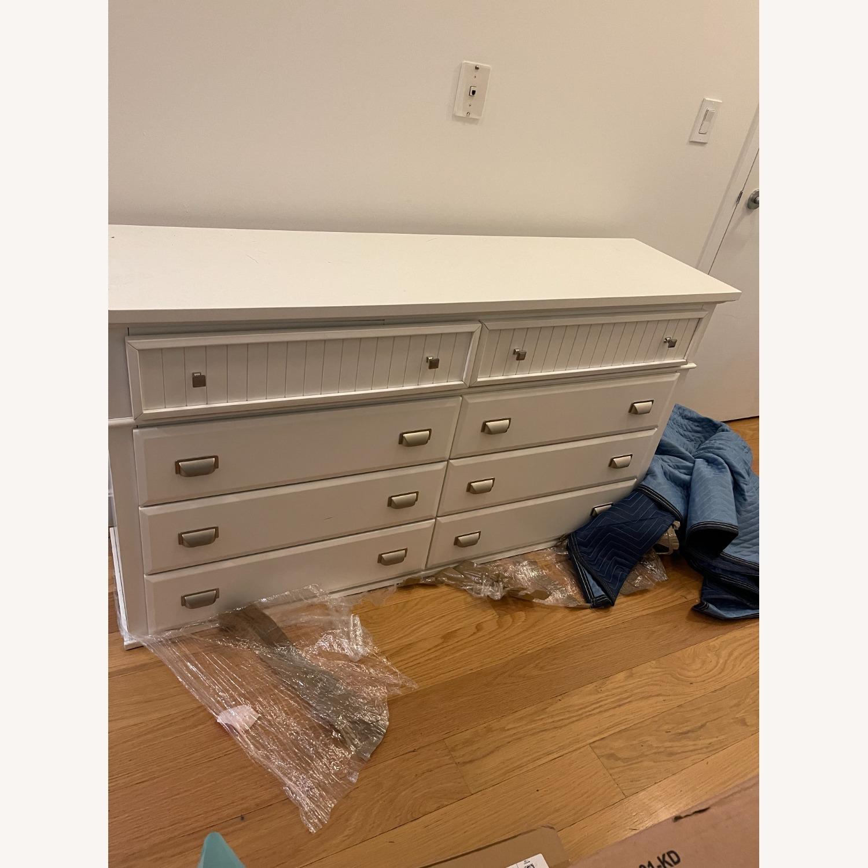 Bob's Discount 6 Drawer Spencer White Dresser - image-2