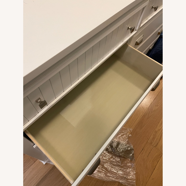 Bob's Discount 6 Drawer Spencer White Dresser - image-5