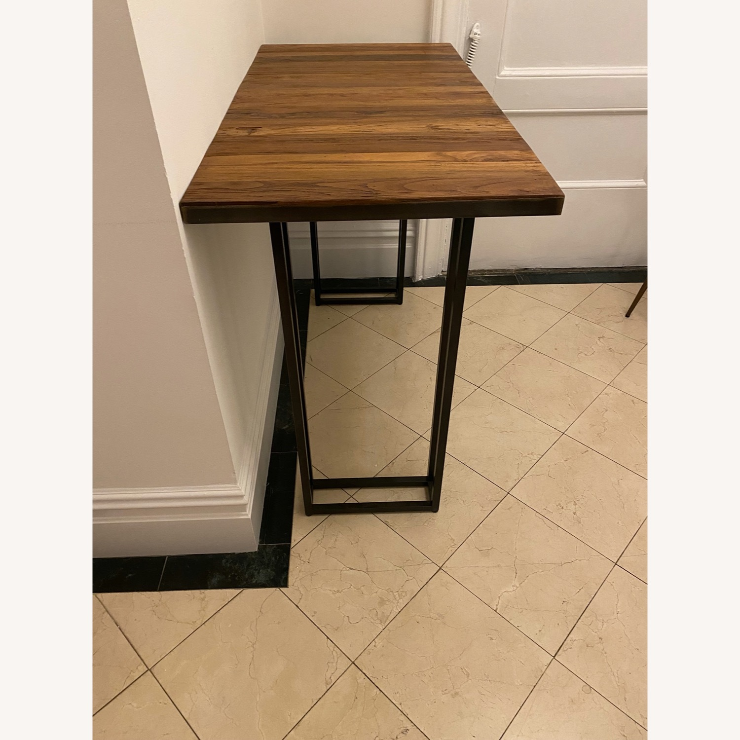 From The Source Custom Teak Counter Height Table - image-3