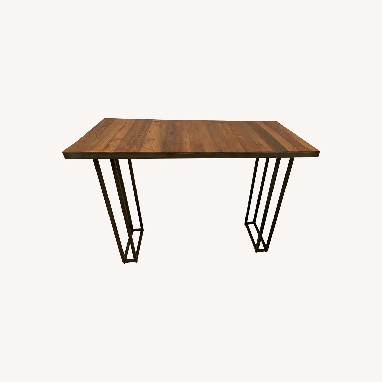 From The Source Custom Teak Counter Height Table - image-0