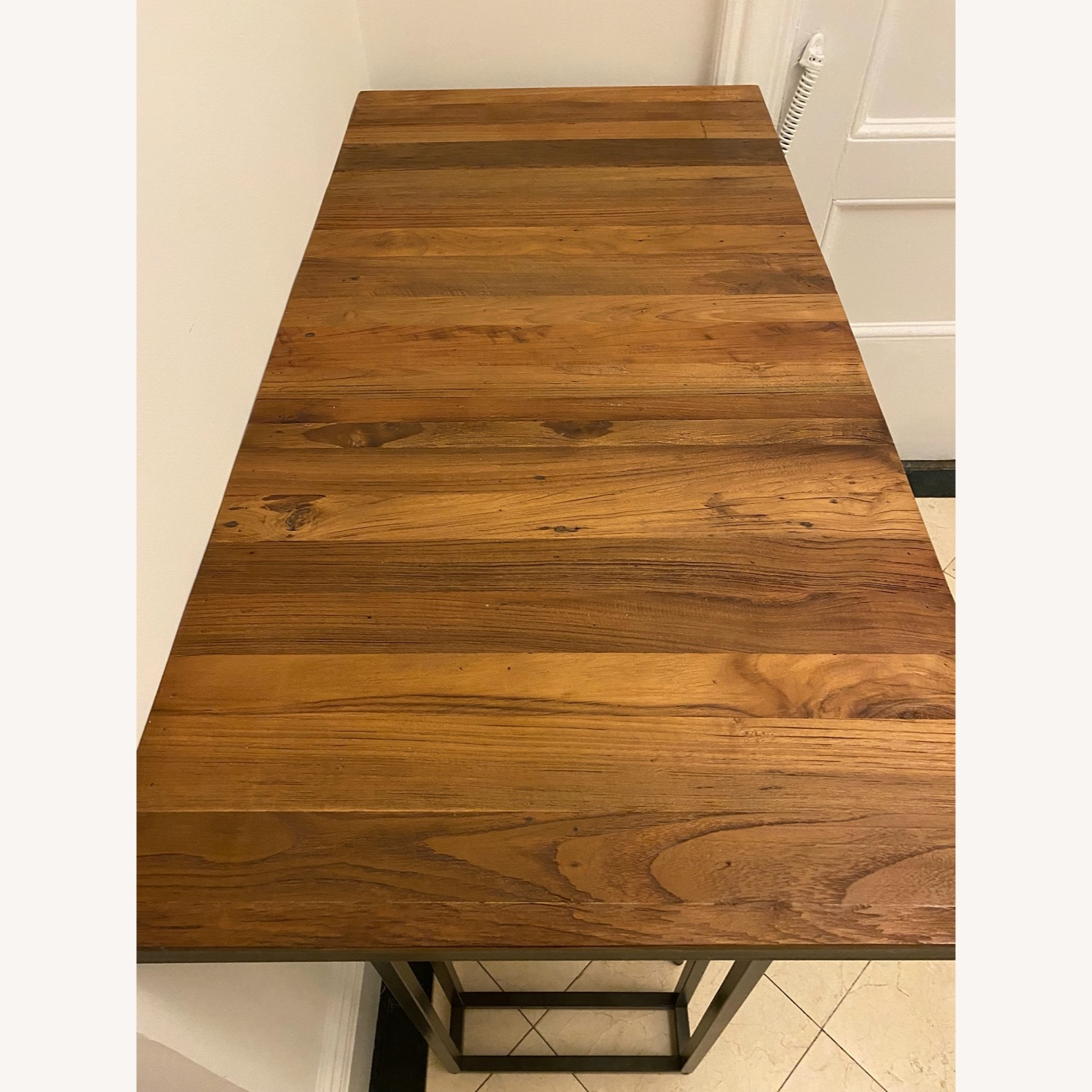 From The Source Custom Teak Counter Height Table - image-2