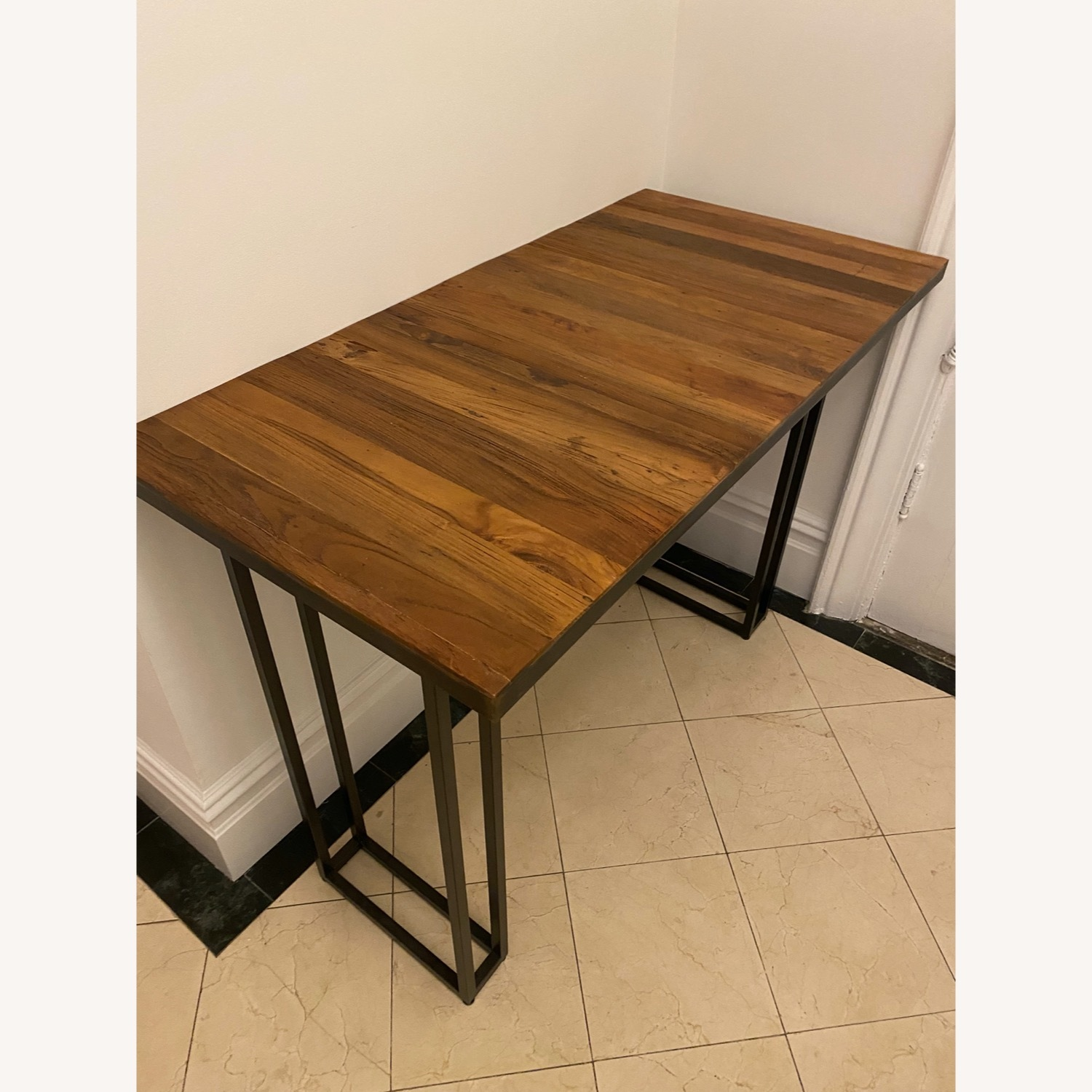 From The Source Custom Teak Counter Height Table - image-4