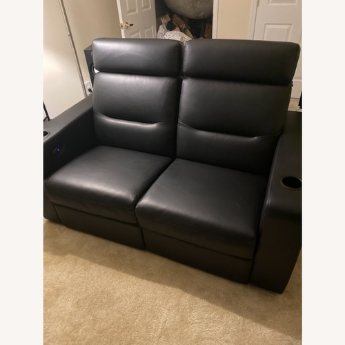 Used Salamander Designs Powered Recline Theater Seating for sale on AptDeco