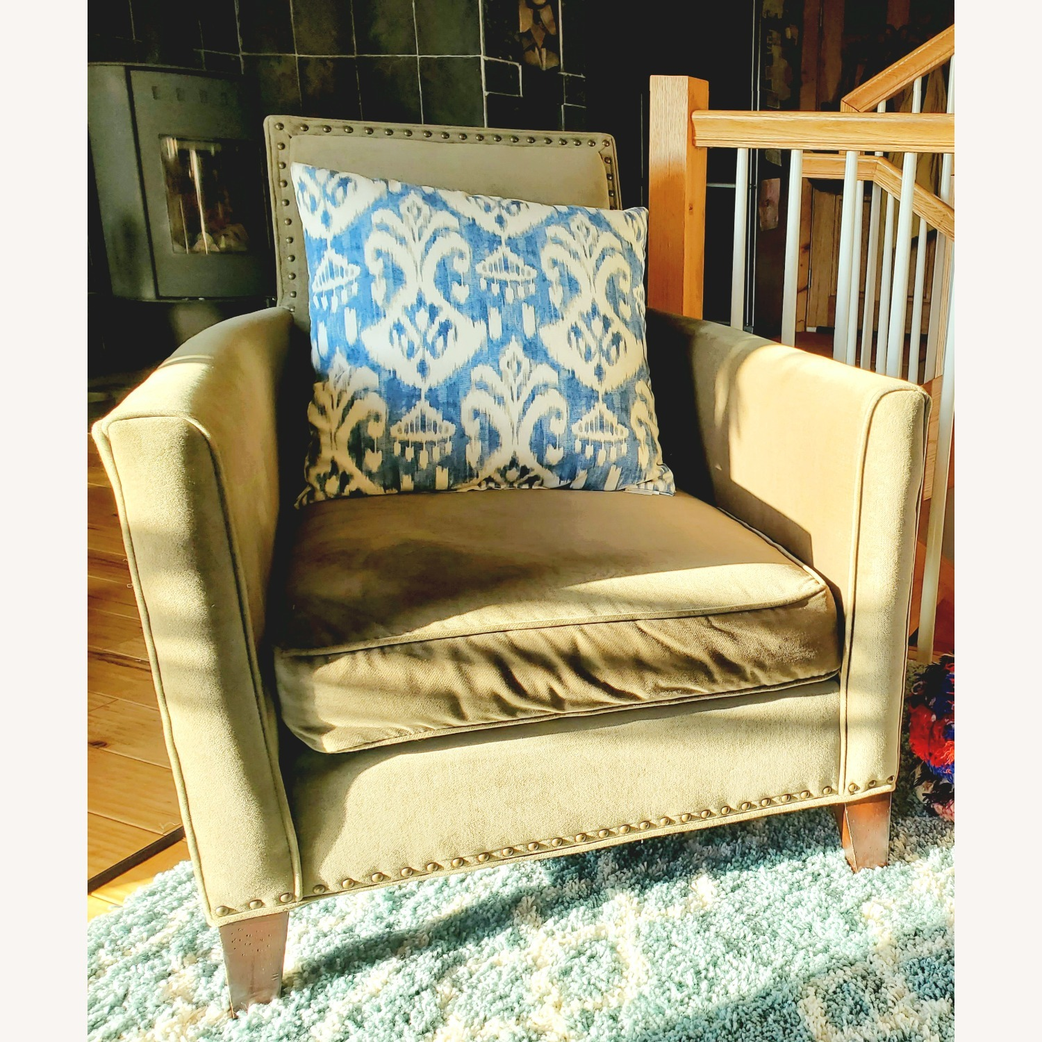 Mitchell Gold + Bob Williams Pair of Velvet Accent Chairs - image-1