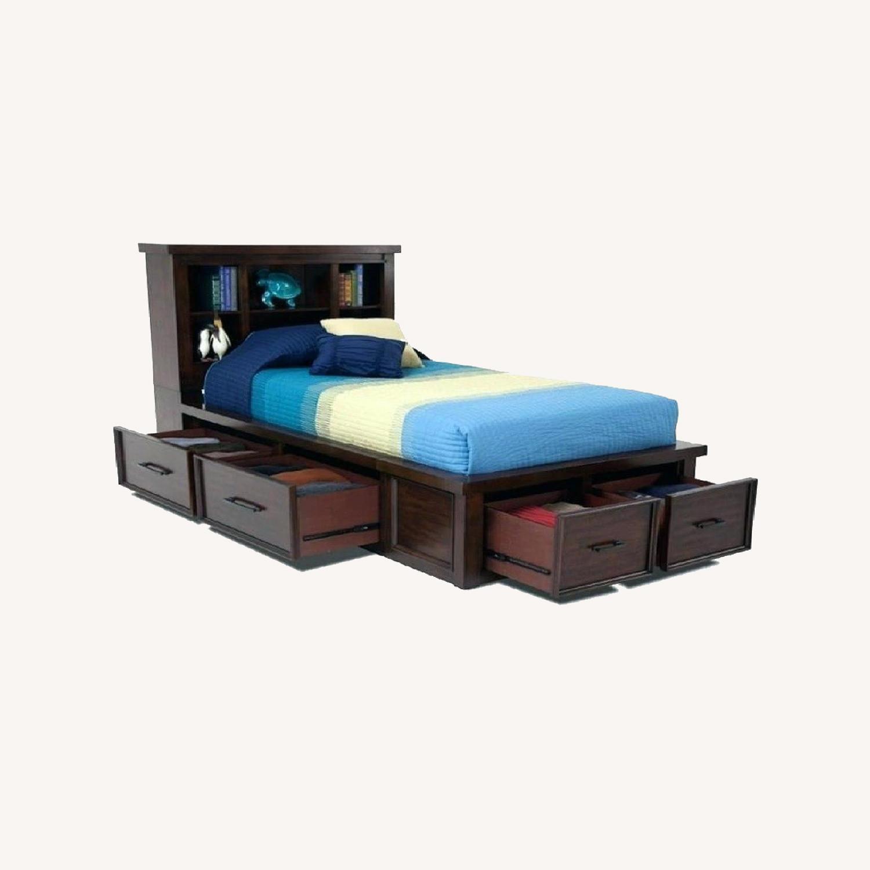 Bob's Discount Hudson Full Size Storage Bed - image-0