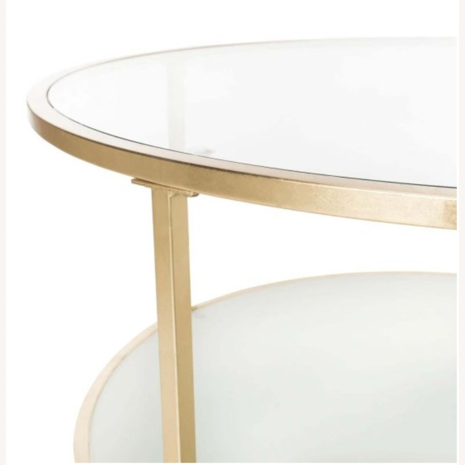 One Kings Lane Savafieh Ivy 2 Tier Round Coffee Table - image-3