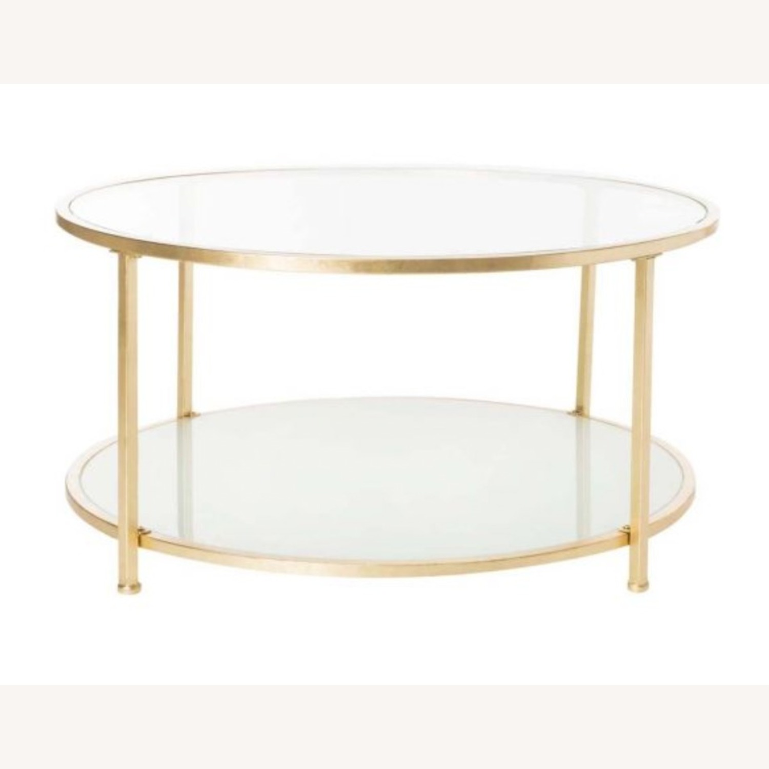 One Kings Lane Savafieh Ivy 2 Tier Round Coffee Table - image-1