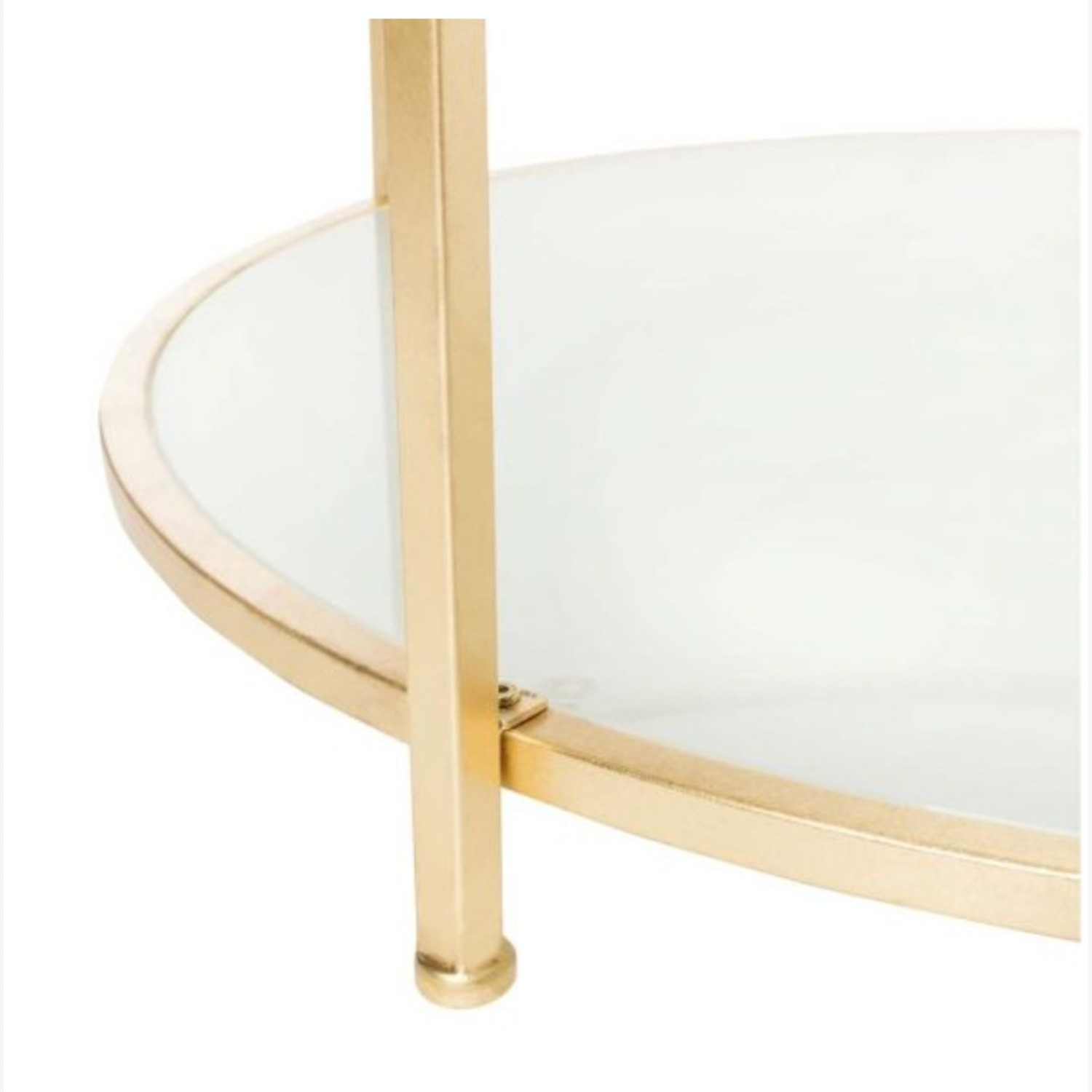 One Kings Lane Savafieh Ivy 2 Tier Round Coffee Table - image-4
