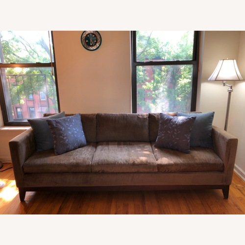 Used Grey Bloomingdales 3-Seat Sofa for sale on AptDeco