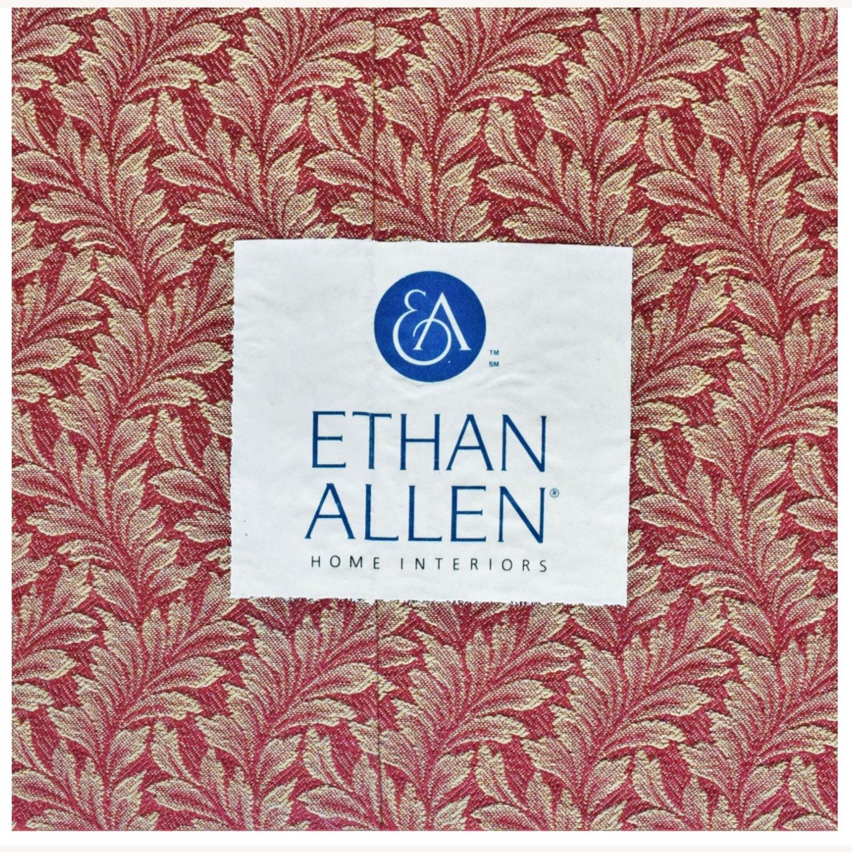 Ethan Allen Red Loveseat - image-4