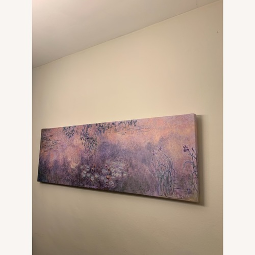 """Used Trademark Fine Art Monet """"Water Lillies"""" Painting for sale on AptDeco"""