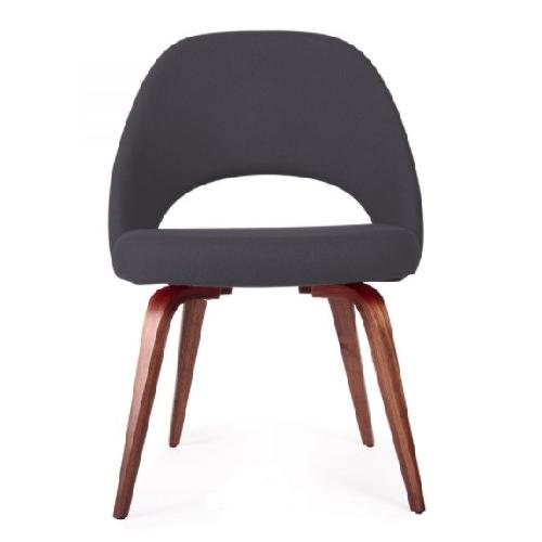 Used Upholstered Dining Chairs Mid-century Modern Style for sale on AptDeco
