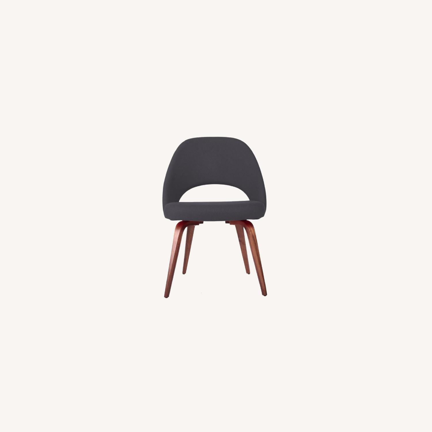 Upholstered Dining Chairs Mid-century Modern Style - image-0