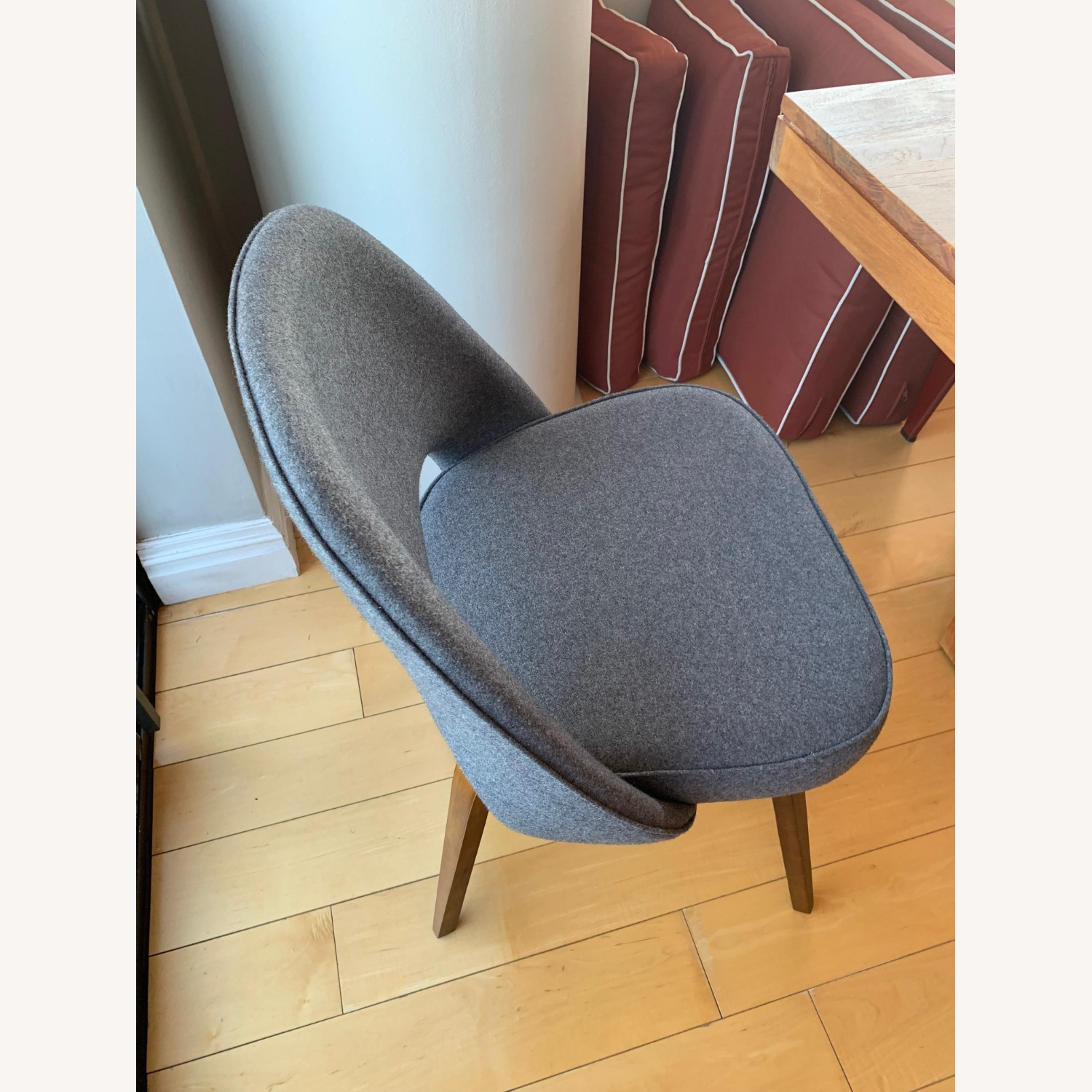 Upholstered Dining Chairs Mid-century Modern Style - image-2