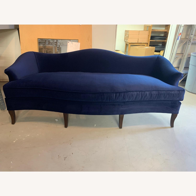Custom Nickey Kehoe Camel Back Sofa - image-1