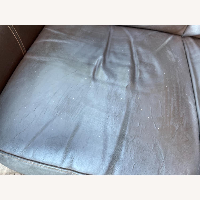 Italiana Divani Chateau Dax Leather Loveseat - image-17