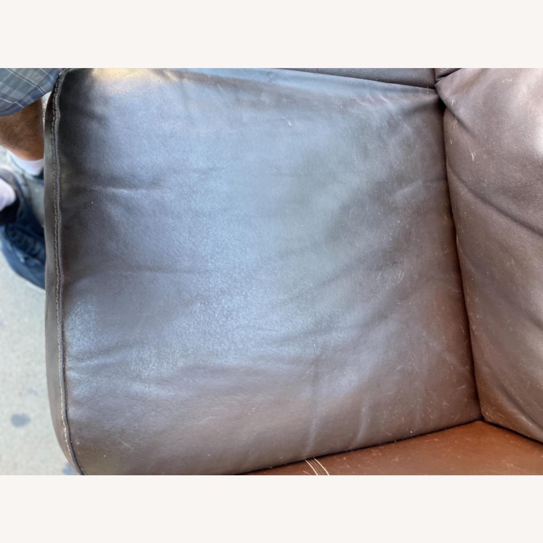 Italiana Divani Chateau Dax Leather Loveseat - image-15