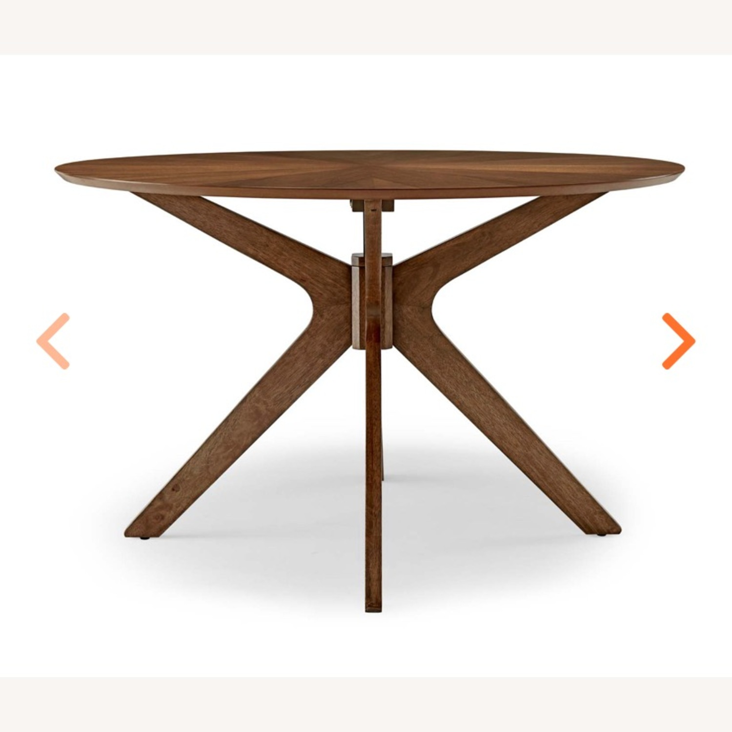 Modway Pedestal 47 Dining Table in Walnut - image-2