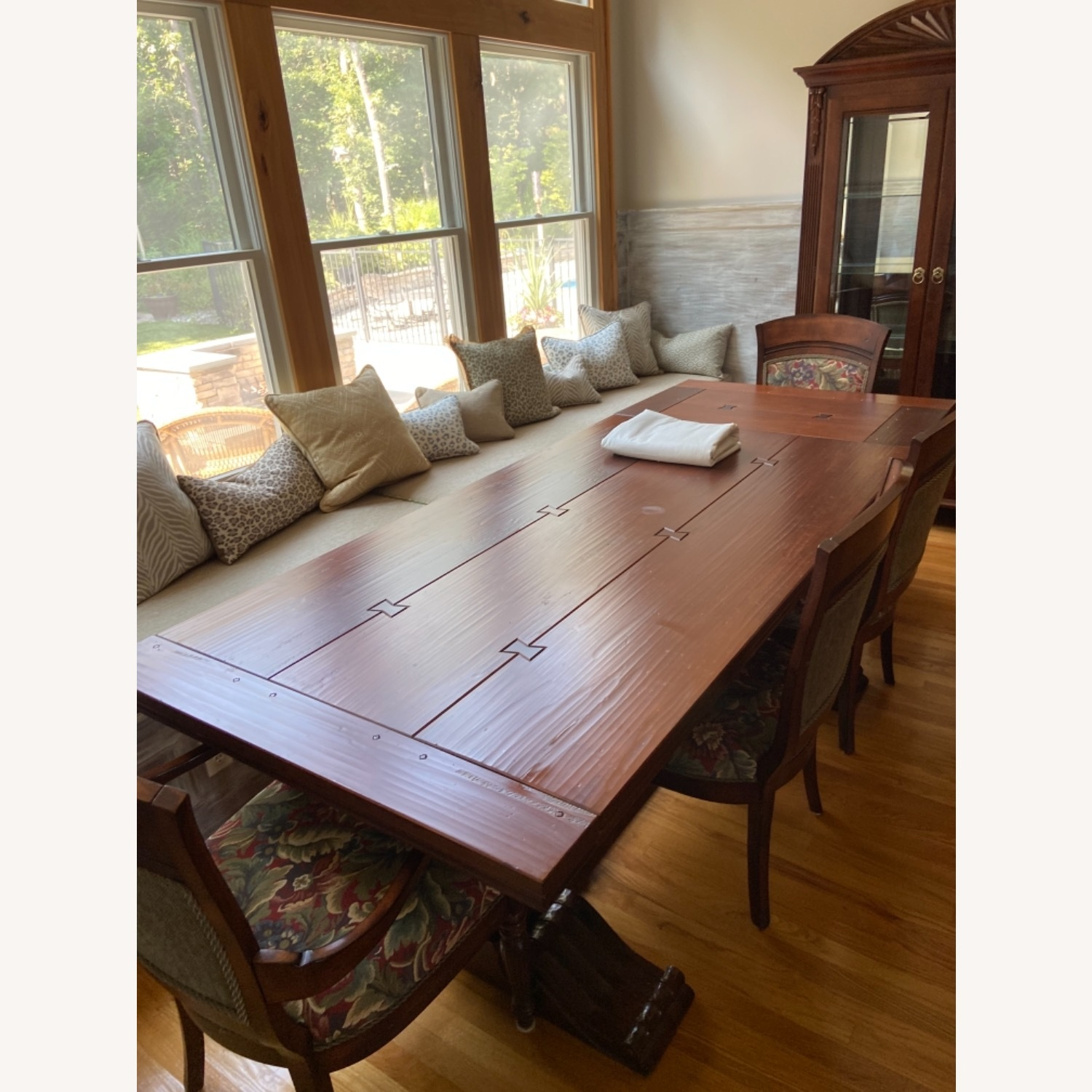 Ethan Allen Dining Table and Chairs - image-1