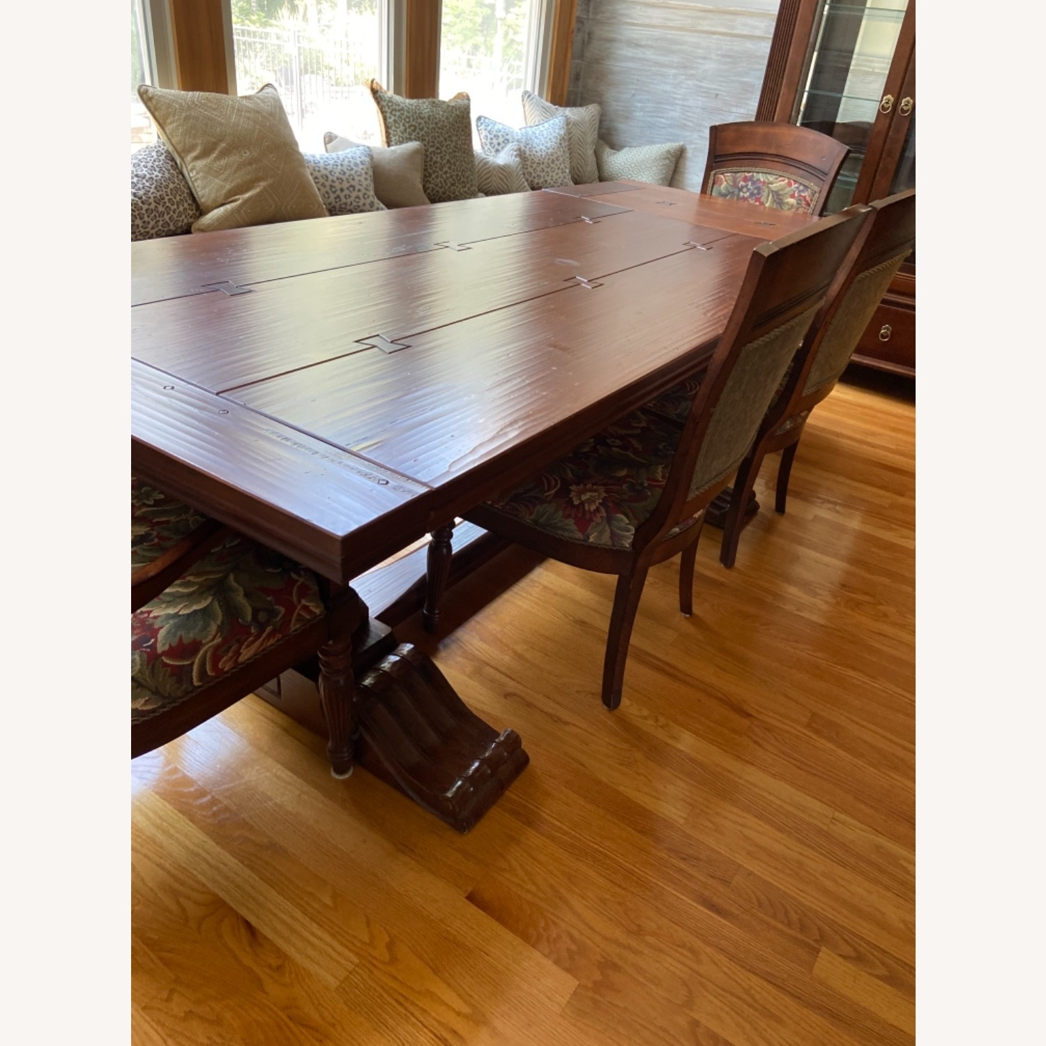 Ethan Allen Dining Table and Chairs - image-2