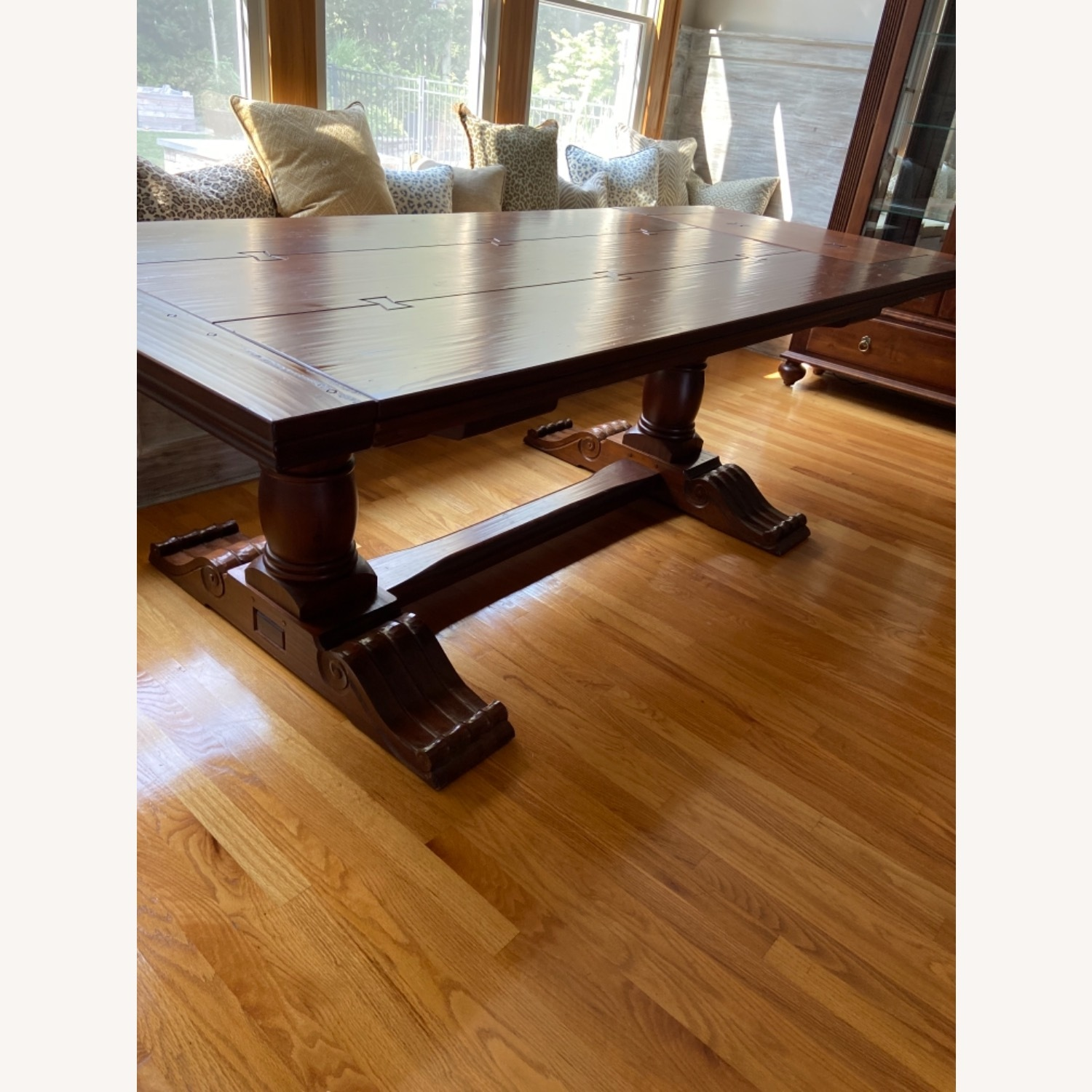 Ethan Allen Dining Table and Chairs - image-3