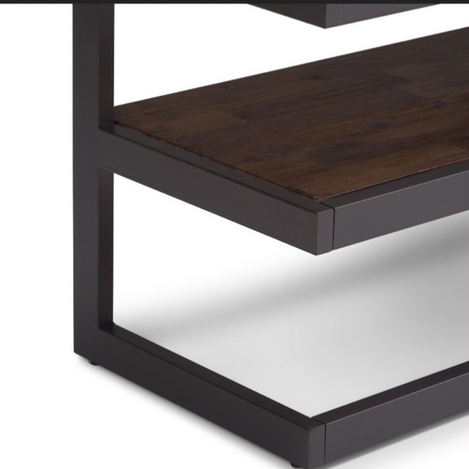 Target WyndenHall Acacia Wood Low TV Stand - image-4