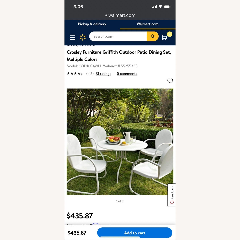 Crossley Outdoor Furniture Set - image-5