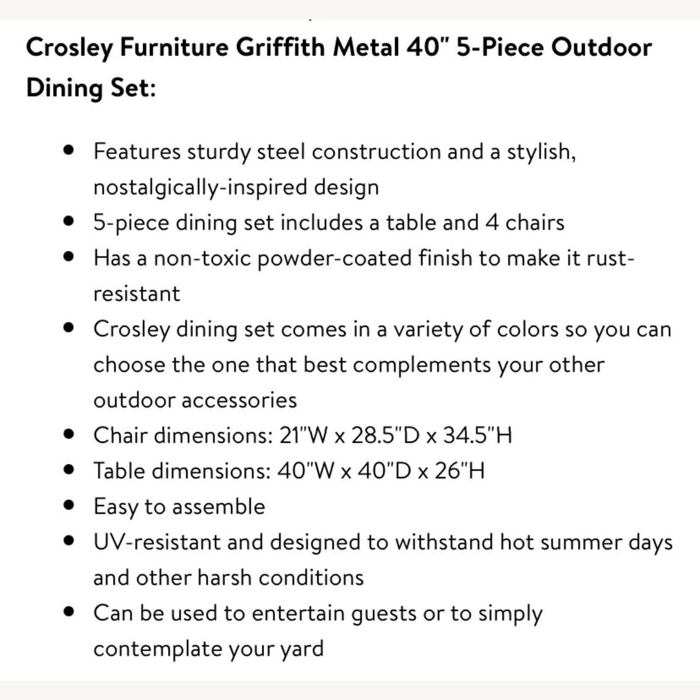 Crossley Outdoor Furniture Set - image-4