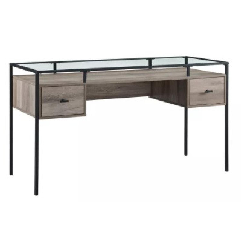 Target Glass Desk - image-4