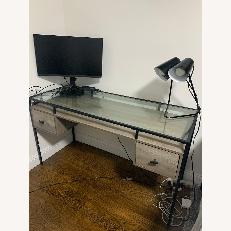 Target Glass Desk - image-3