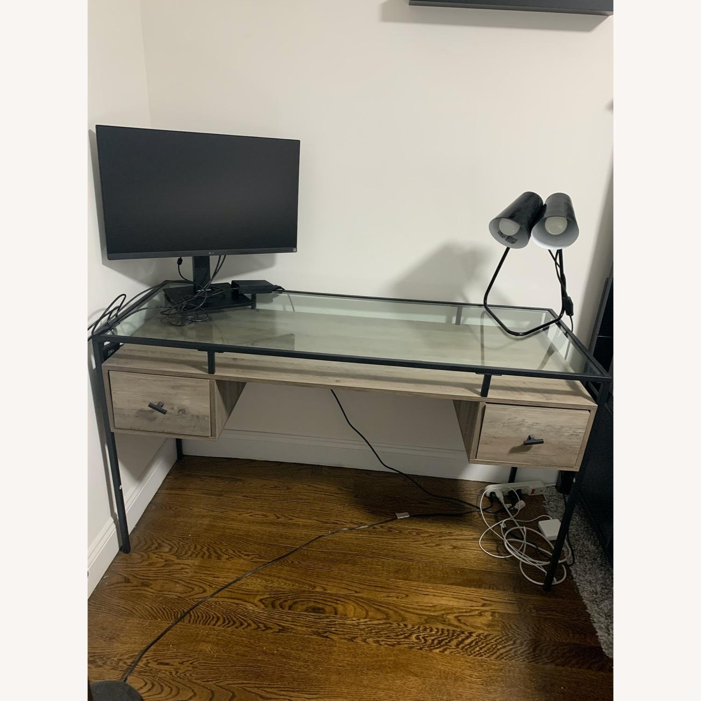 Target Glass Desk - image-2