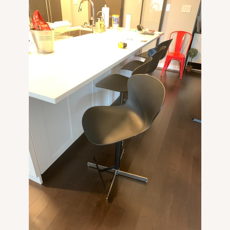 BoConcept Adjustable Black Barstools - image-1