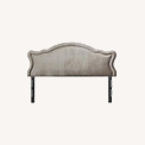 Used Jennifer Taylor Upholstered Headboard - Grey for sale on AptDeco