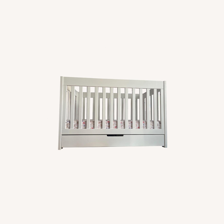 Babyletto Modern Crib with a Storage Drawer - image-0