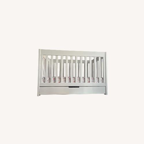 Used Babyletto Modern Crib with a Storage Drawer for sale on AptDeco
