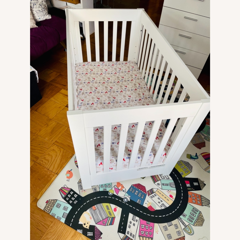 Babyletto Modern Crib with a Storage Drawer - image-2